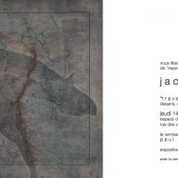 """Invitation pour l'exposition """"traversées"""" de Jacques Walther"""