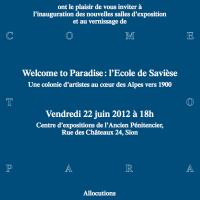 Samuel Dématraz expose au musée d'art du Valais à Sion du 23 juin 2012 au 6 janvier 2013