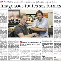 Article du 25 juin 2012 dans Le Nouvelliste